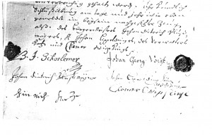 Kaufvertrag 1697