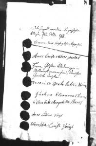 Vergleich vom 05.10.1755