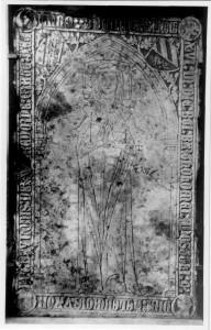 Grabplatte Helenburgis Warendorp, geb. Bruns