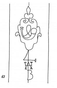 Wasserzeichen von Heinrich Adam Becker