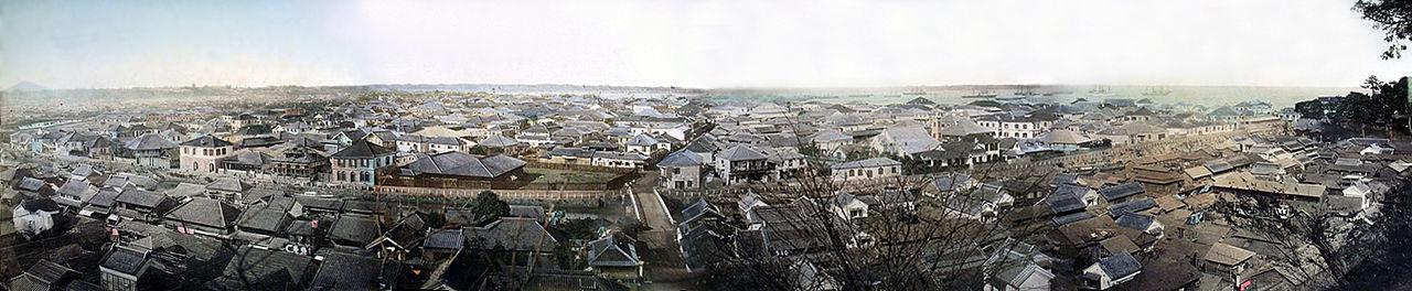 Yokohama_um 1880