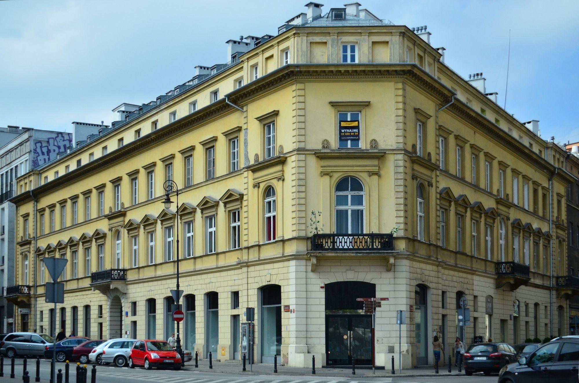 Warschau - Ecke Zurawia und Bracka